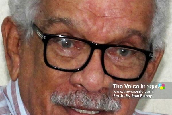 Image of Sir Derek Walcott. [PHOTO: Stan Bishop]