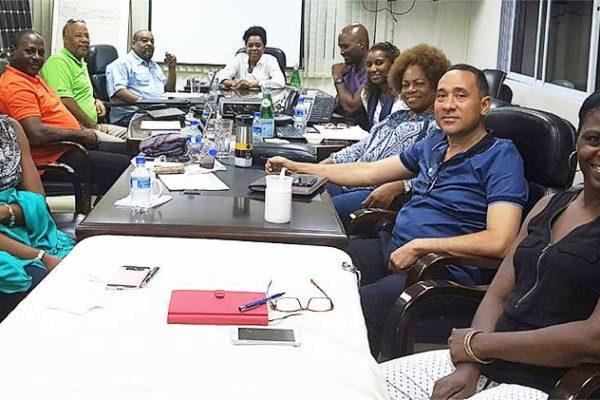 Image: Board members at the retreat.