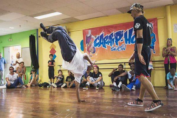 Image: David Milone, hip hop dancer.