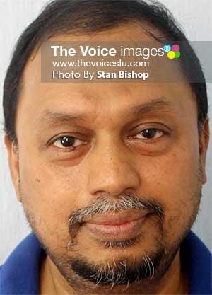 Image: Dr. Iftekhar Ahmed Shams. [PHOTO: Stan Bishop]