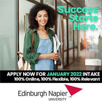 Edinberg Napier University, Click here to apply.
