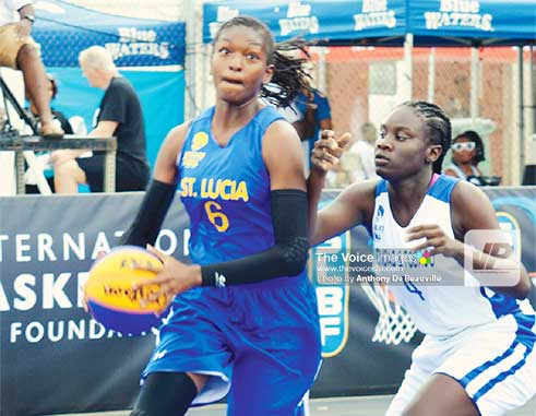 Image: Female MVP of the tournament, Saint Lucia's Ramani Lewis Emmanuel. (PHOTO: Anthony De Beauville)