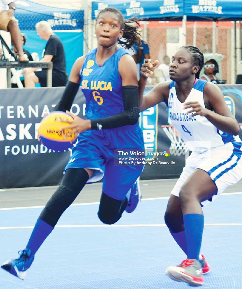 Image: Female MVP of the tournament, Saint Lucia's Ramani Lewis Emmanuel. (PHOTO: Anthony De Beauville)