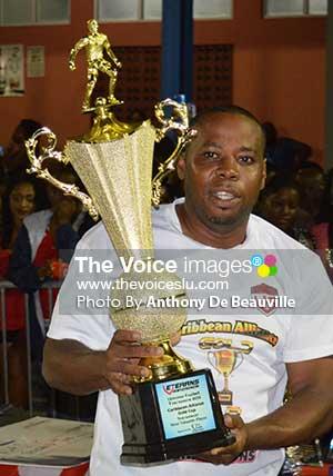 Image: MVP of the tournament Barnett Bledman  (VSADC)