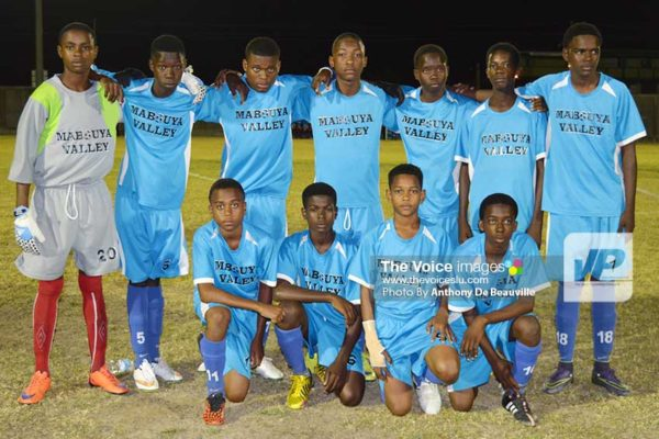 Image: Mabouya Valley - Mabouya Valley Under-15 team has scored 17 goals and only conceded 2. (Photo: Anthony De Beauville)