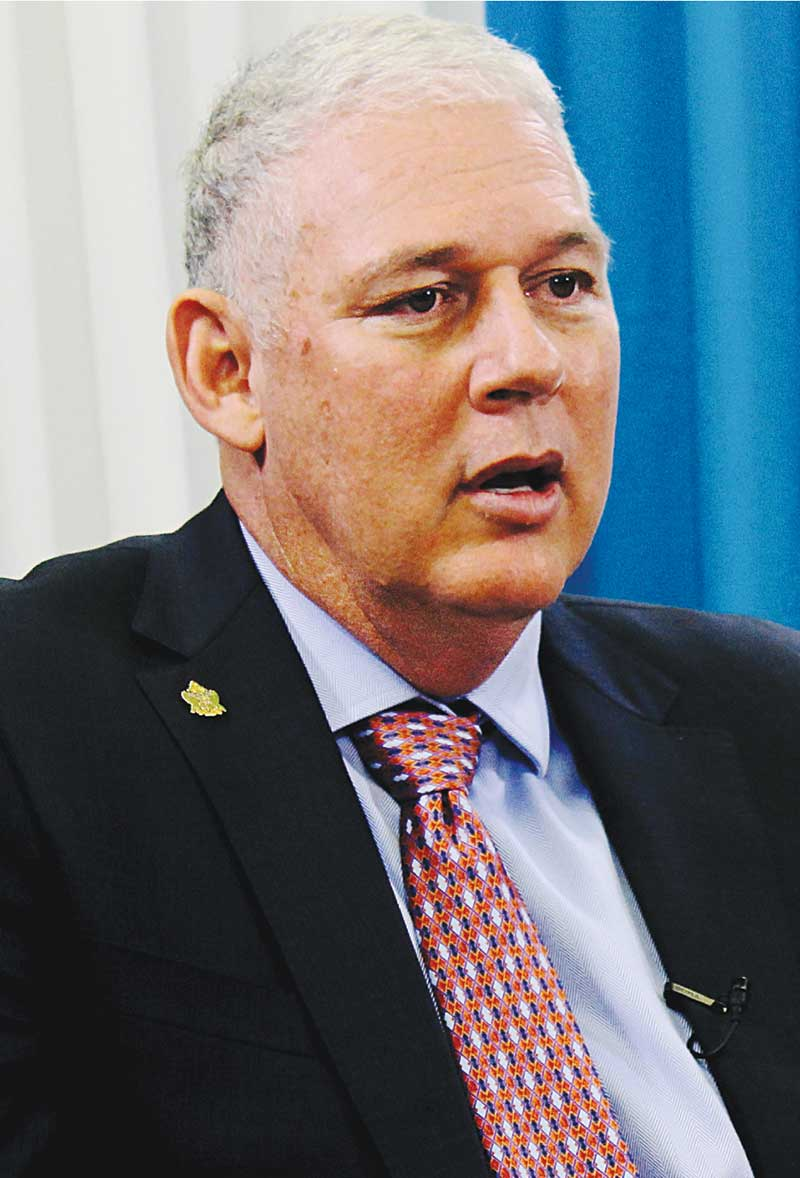 Image of Prime Minister Allen Chastanet's