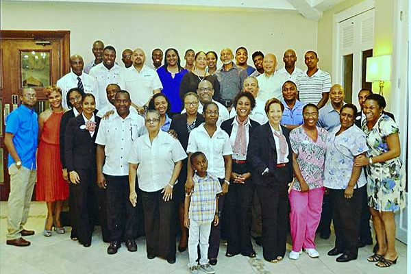 Image: Sandals team Supports Alexander