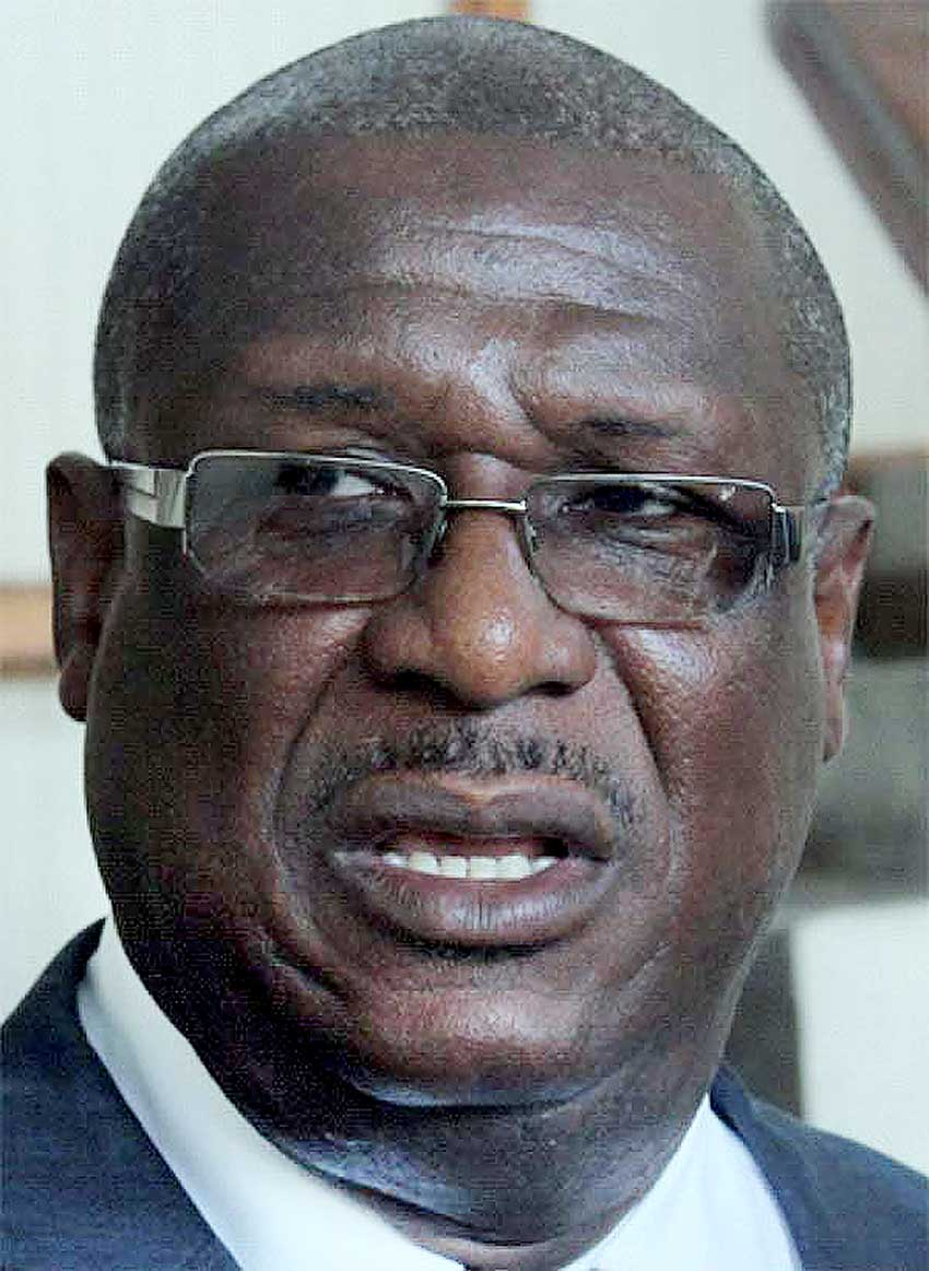 Image of Infrastructure Minister, Stephenson King,