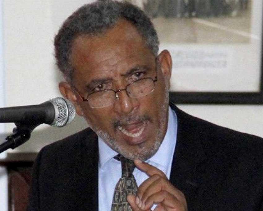 Image of Opposition Leader Godwin Friday
