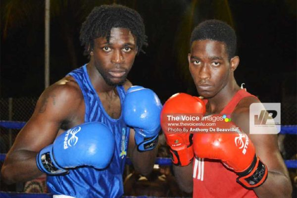 Image: (L-R) The main card on the night features senior and junior boxer of the year, Lyndell Marcellin and Nathan Ferrarl (Photo: Anthony De Beauville)