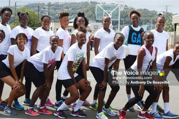 Image: National training squad takes time-out for a photo moment. (Photo: Anthony De Beauville)