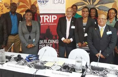 Image: OECS represented at ICAO Regional Meeting in St. John's, Antigua and Barbuda.