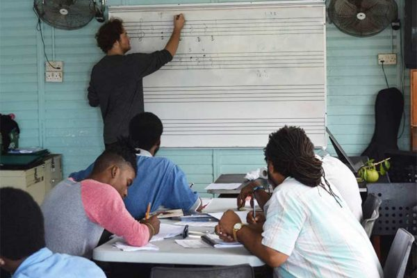 Image: School of Music training