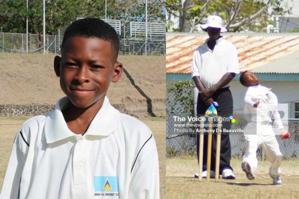 Image: Simeon Gerson scores maiden century and picked up 3 for 39 (Photo: Anthony De Beauville)