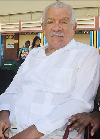Image of the late Nobel Laureate, Sir Derek Walcott