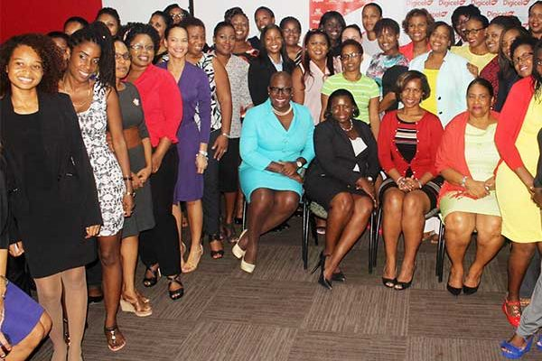 Image: St Lucian women…dominating the work force in several categories of employment. [Stan Bishop]