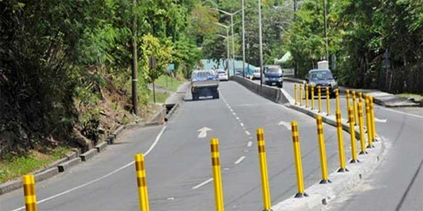 Image: The Castries-Gros Islet highway.