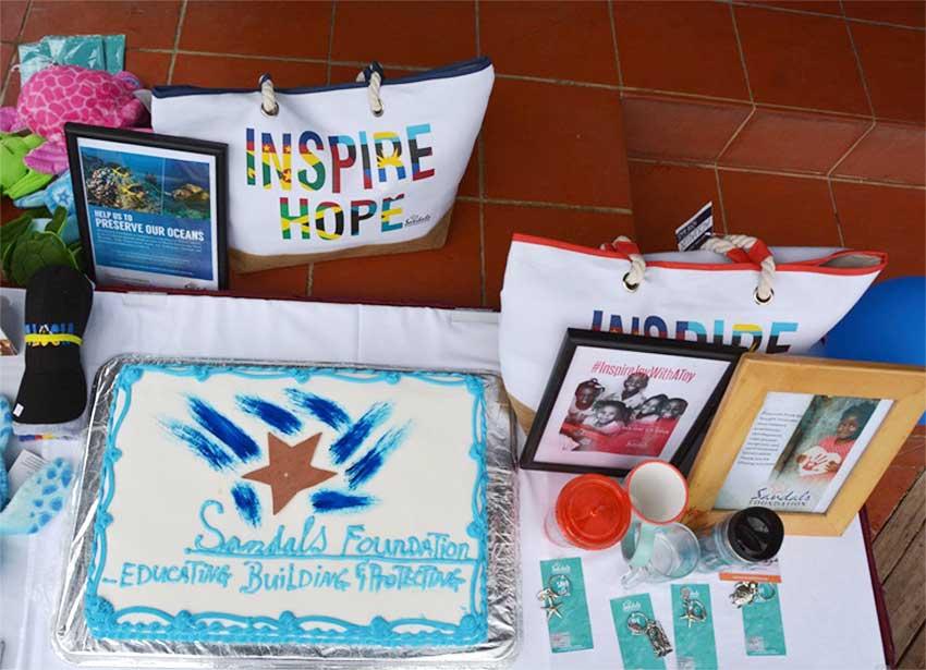 Image of the anniversary  cake