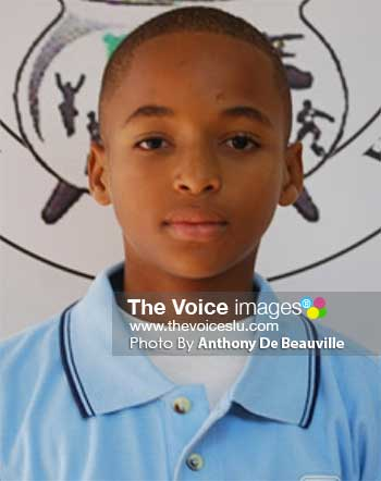 Image: Keegan Arnold to lead Windward Islands Under -15 Cricket Team.(PHOTO: Anthony De Beauville)