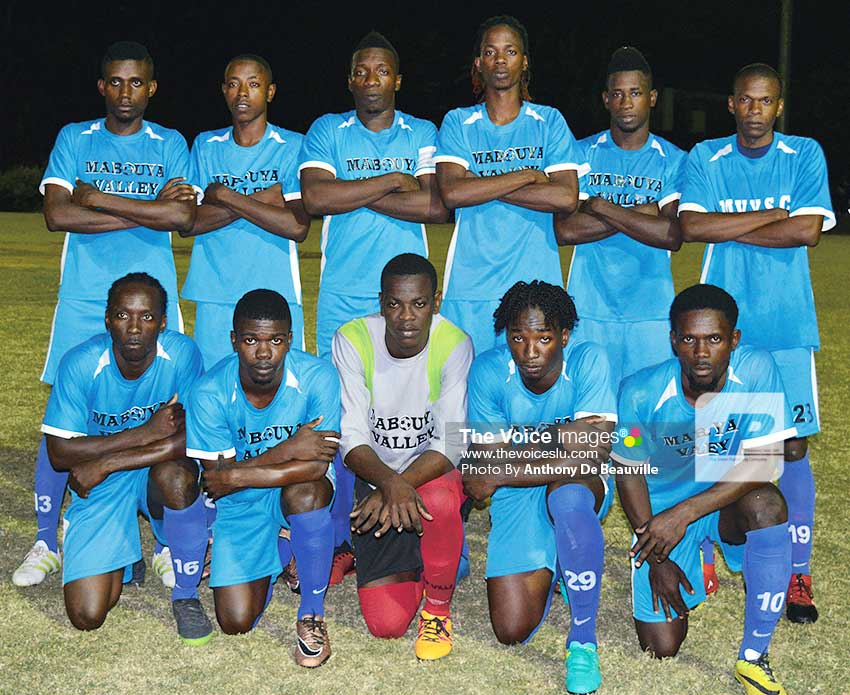 Image of Mabouya Valley football team. (Photo: Anthony De Beauville)