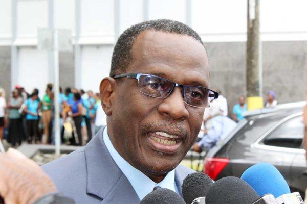 Image of Opposition Leader, Philip J. Pierre