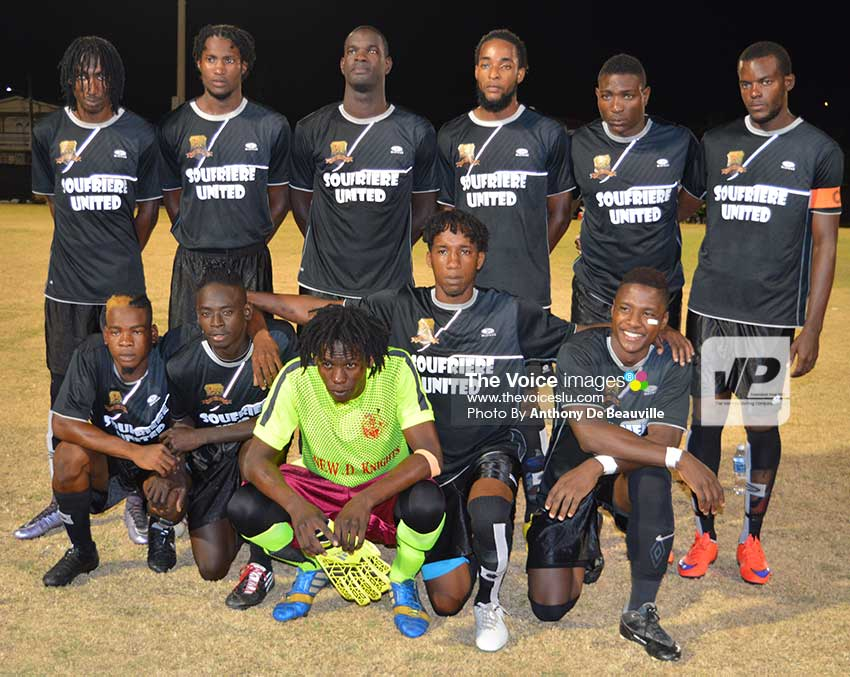 Image: Soufriere start their campaign with a 1 – 0 win over Anse La Raye on Sunday.  (Photo: Anthony De Beauville)