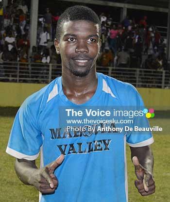 Image: Vernon Abbot, Tournament leading goal scorer