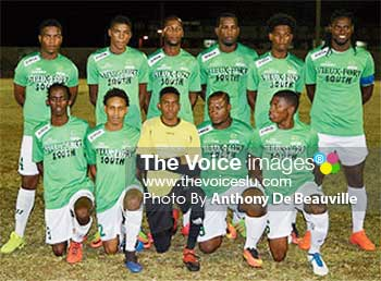 Image of Vieux Fort South football team (Photo: Anthony De Beauville)