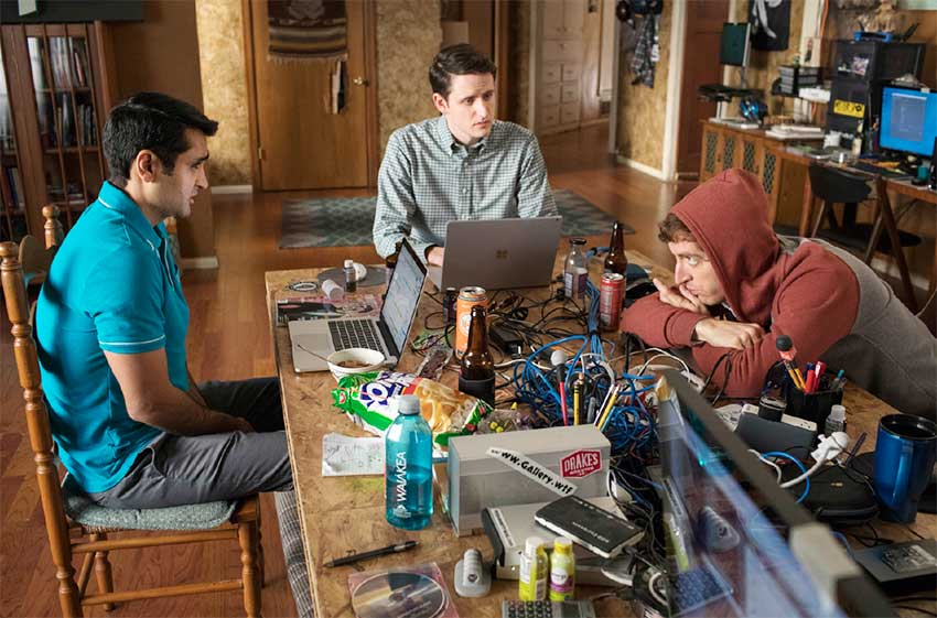 Image: A scene from 'Silicon Valley.'