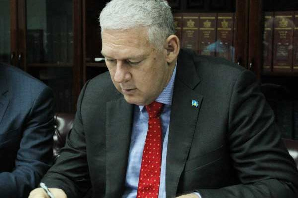 Image of Prime Minister Allen Chastanet