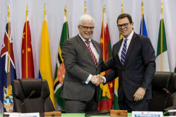 Image: EIB Vice President, Pim Van Ballekom
