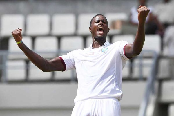 Image of West Indies' Jason Holder. (Photo: BCCI / AFP)