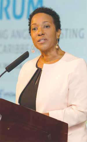 Image of Pamela Coke Hamilton, Executive Director, Caribbean Export.