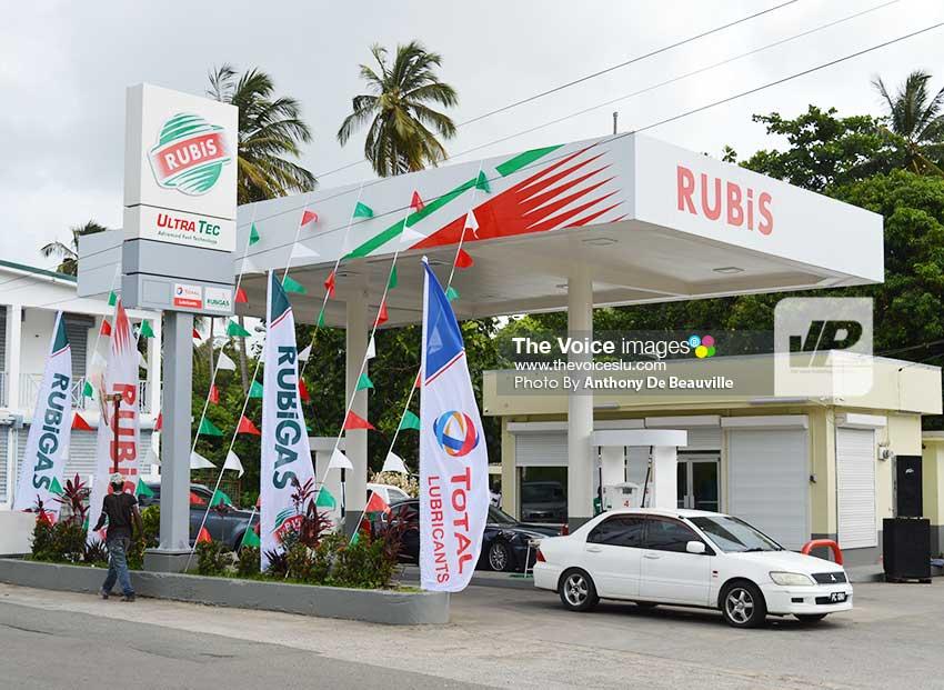 Image: RUBIS Balata The newly-reopened service station at Balata.    (Photo: Anthony De Beauville)