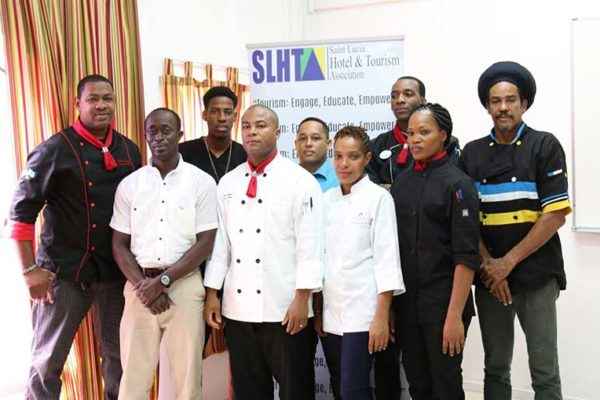 Image: The Saint Lucia Culinary Team.