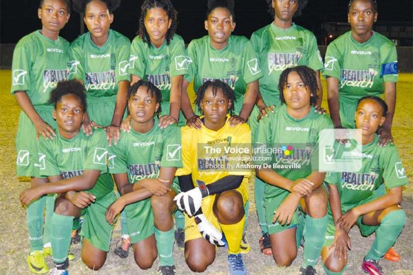 Image: The winning VFS team against Gros Islet. (PHOTO: Anthony De Beauville)