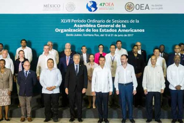 Image: The 47th Regular Session of the OAS General Assembly.