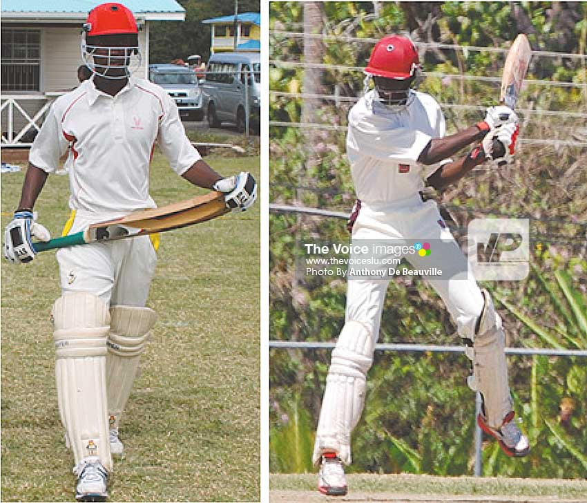 Image: (l-r) Openers Dane Edward and Kimani Melius in record-breaking form. (Photo: Anthony De Beauville)