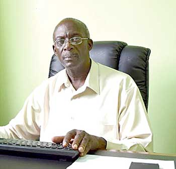 Image of Executive Director of the Cultural Development Foundation (CDF), Melchoir Henry
