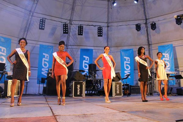 Image: Micoud Carnival Pagent Contestants