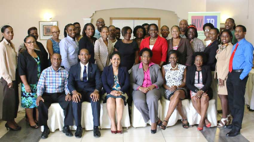 Image: Participants at the recent consultation.