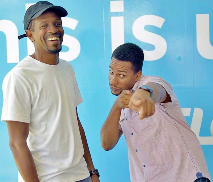Image: Radio personalities having a good time at the Endless Everything Summer launch.