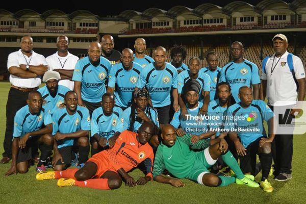 Image: Saint Lucia All Stars Team. (Photo: Anthony De Beauville)