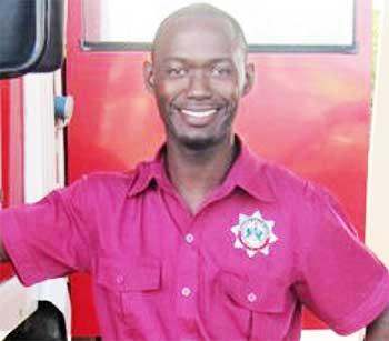 Image of Fire Service Association Chairman, Shane Felix