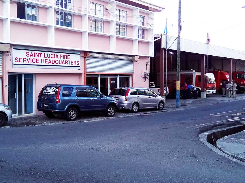 Image of St. Lucia Fire Service Headquarters