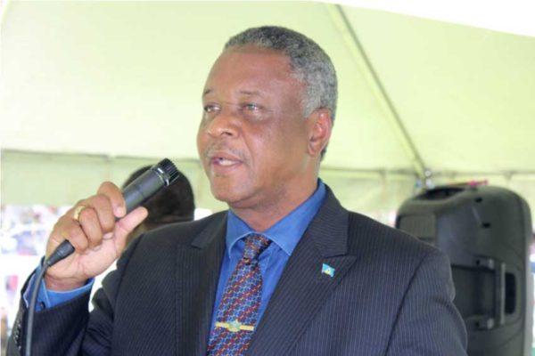 Image of National Security Minister, Hermangild Francis