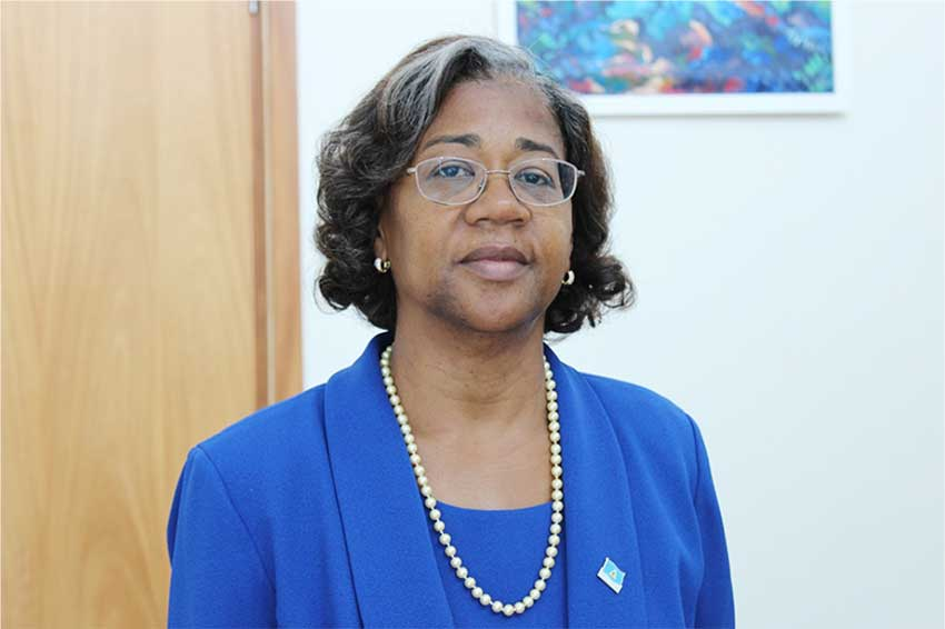 Image of Health and Wellness Minister, Mary Isaac [PHOTO: PhotoMike]