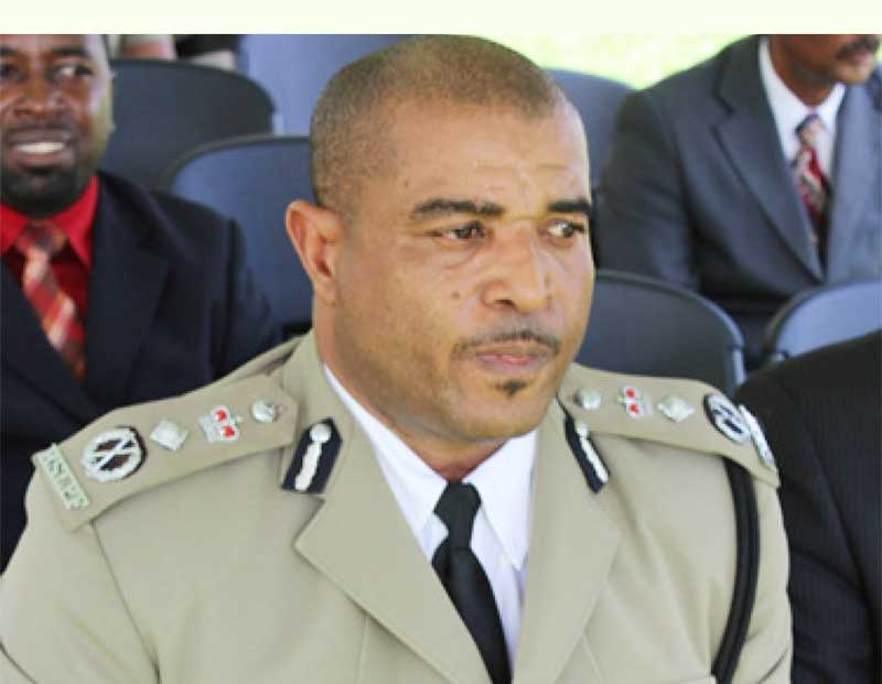 Image of Acting Police Commissioner Milton Desir