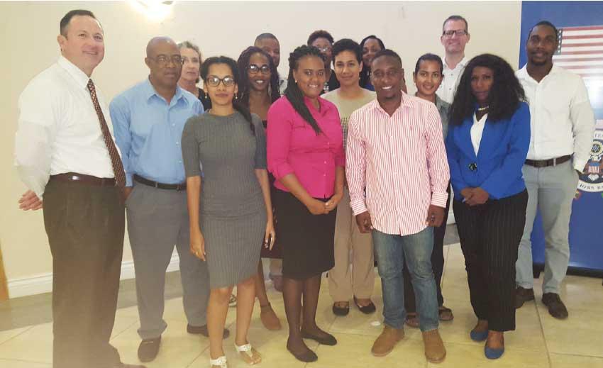 Image of Participants at Thursday's training workshop. [PHOTO: Rochelle Gonzales]