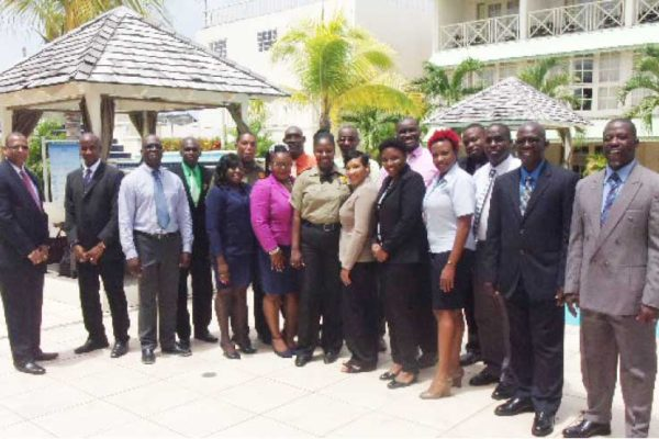 Image: Participants in the ICAO AVSEC Basic Instructors Course